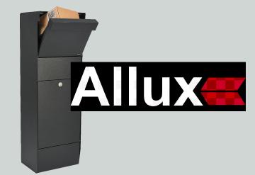 Allux mailbox button